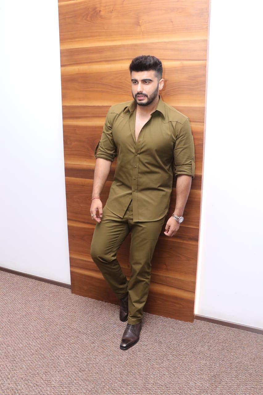 Arjun Kapoor at the trailer preview of Panipat