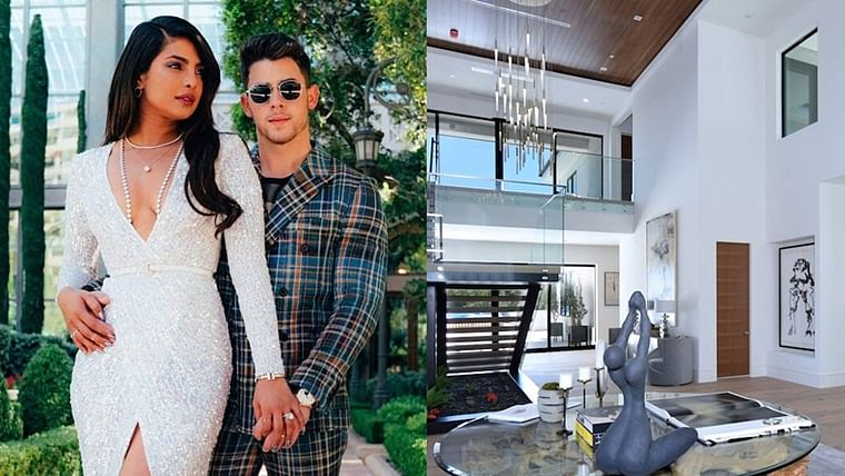 Inside Pics: Priyanka and Nick's new LA mansion worth Rs 144 cr has 7 bedrooms, movie theatre and a lot more!