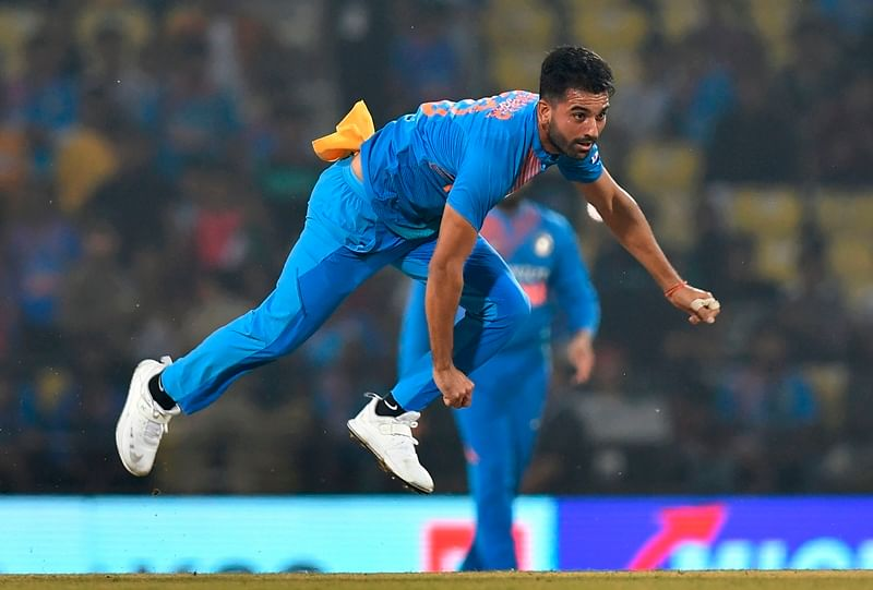Deepak Chahar takes a hat-trick, picks up six wickets for seven runs to record best figures in the history of T20I