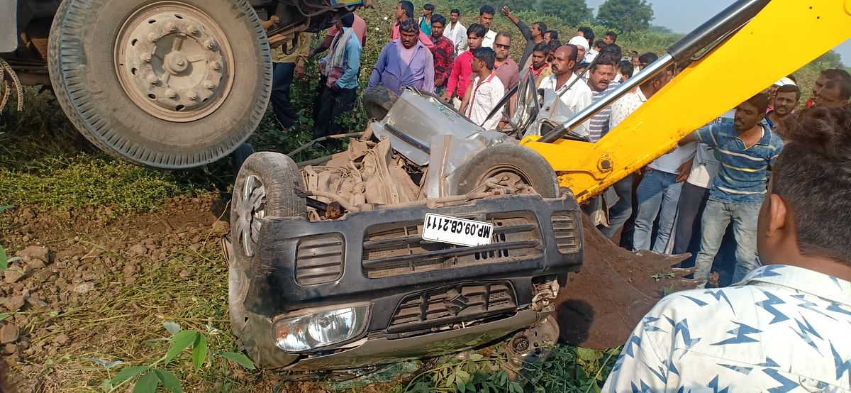 Anjad: 5 of family killed in accident