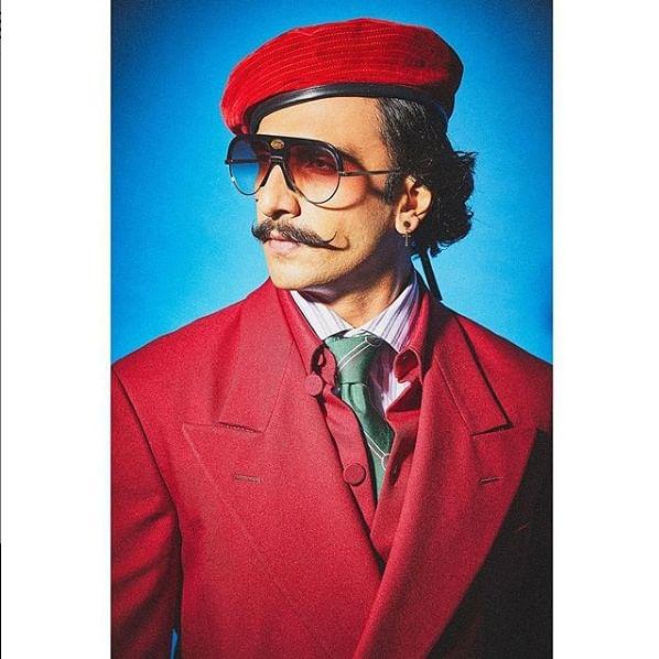 Ranveer Singh calls his make-up artist 'bhabhi'