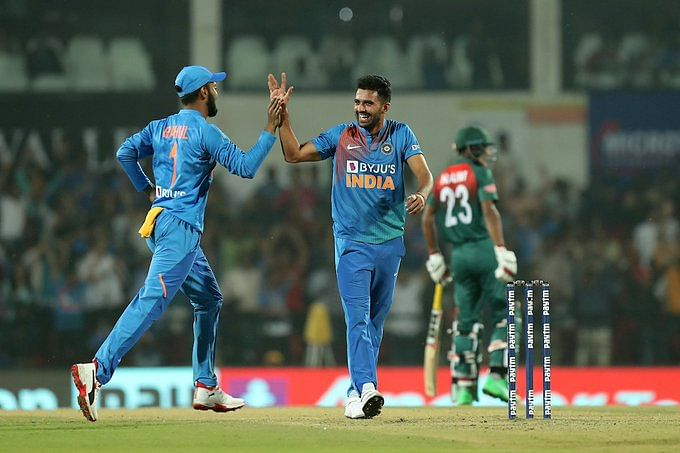 India thrash Bangladesh by 30 runs to win the series 2-1