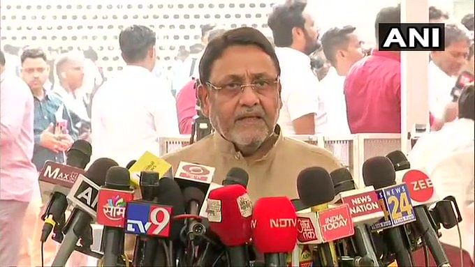 BJP wanted excuse to run away during floor test, says NCP's Nawab Malik