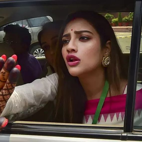 West Bengal Assembly election 2021: TMC MP Nusrat Jahan loses cool during poll campaign