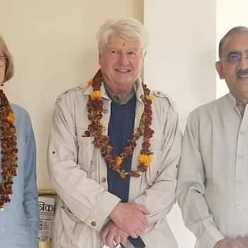 Bhopal: UK PM's father Stanley Johnson in Orchha