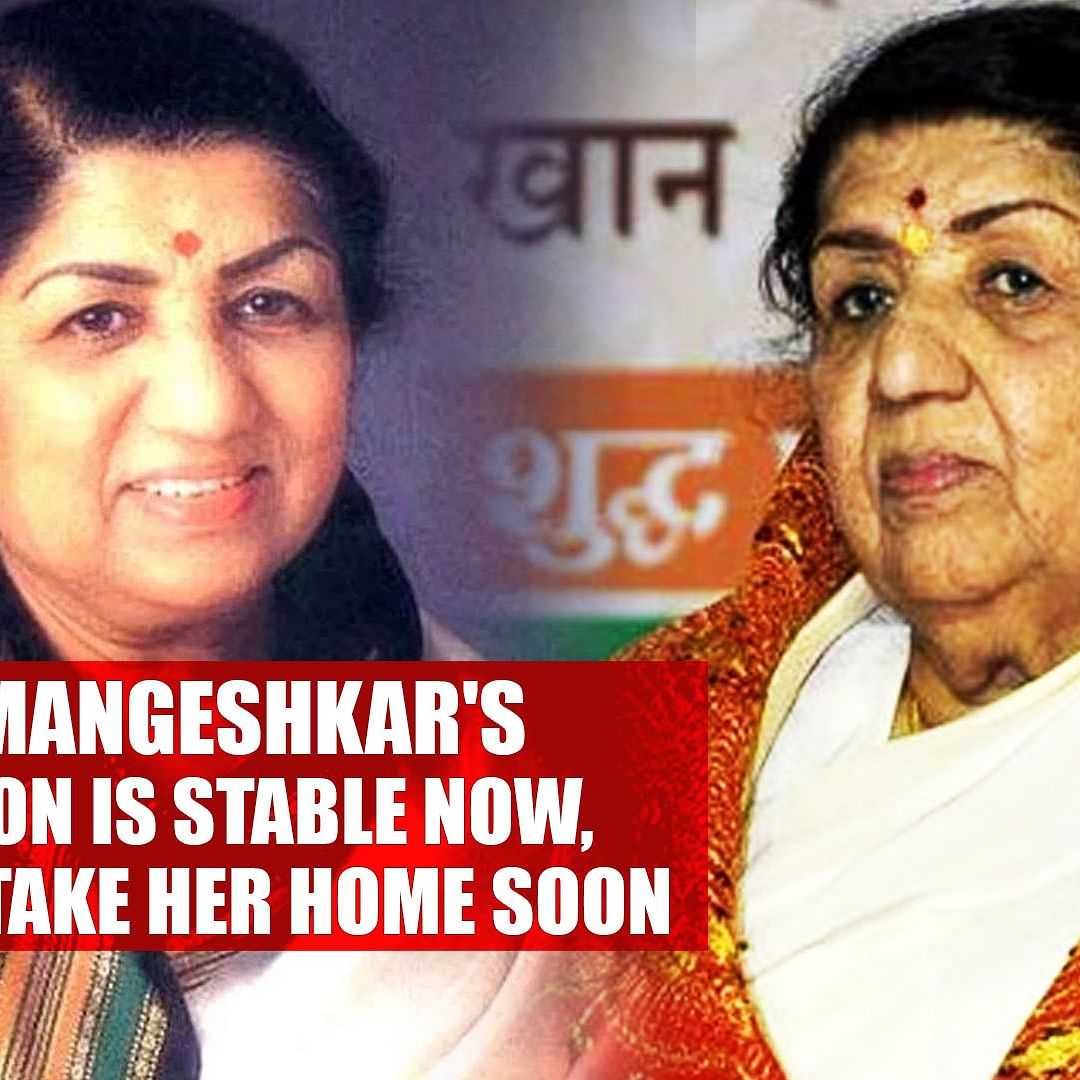 Lata Mangeshkar's Condition Is Stable Now, Family To Take Her Home Soon