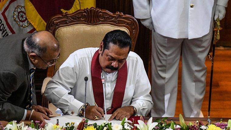 Mahinda Rajapaksa sworn in as Sri Lanka's new prime minister