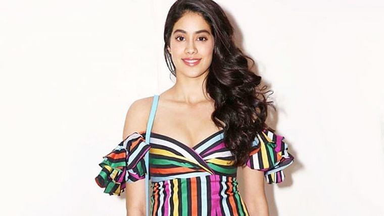 Janhvi Kapoor radiating 'good vibes' will take away your mid-week blues