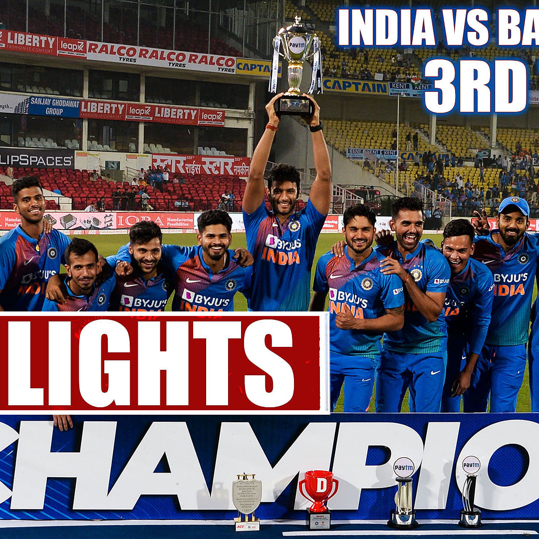 India vs Bang 3rd T20 Highlights: India Slays Bangladesh To Win Series 2-1