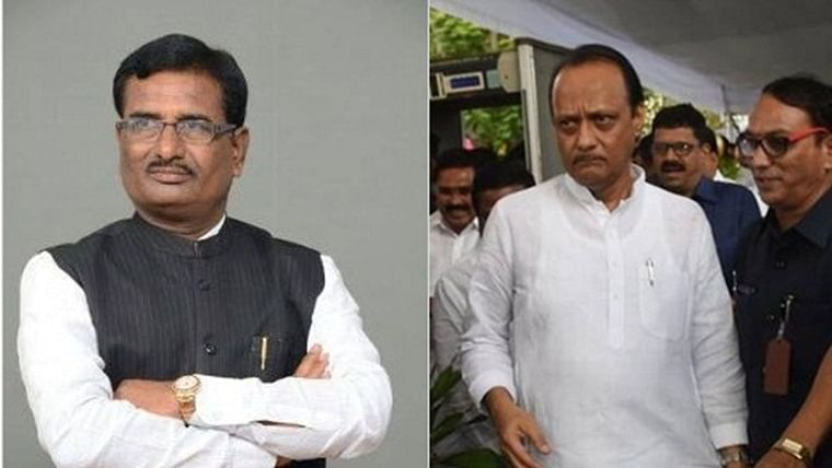 Ahead of Uddhav's floor test, BJP MP Pratap Rao Chikhlikar goes to meet Ajit Pawar