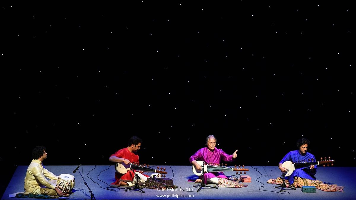 Sarod brothers Amaan Ali and Ayaan Ali captivating America with a tribute to the Hindu Devi