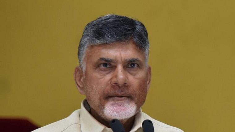 Former Andhra Pradesh chief minister and TDP president N Chandrababu Naidu