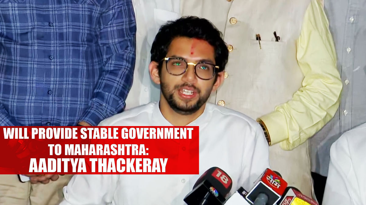 Will provide stable government to Maharashtra: Aaditya Thackeray