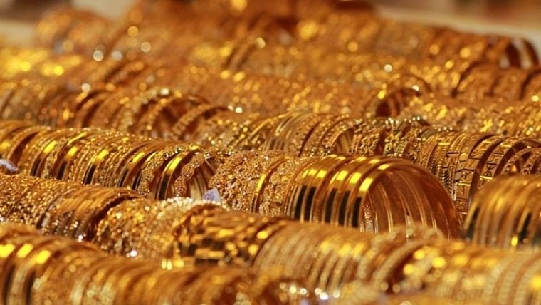 Gold prices fall for second straight day, silver rates down to Rs 44,825