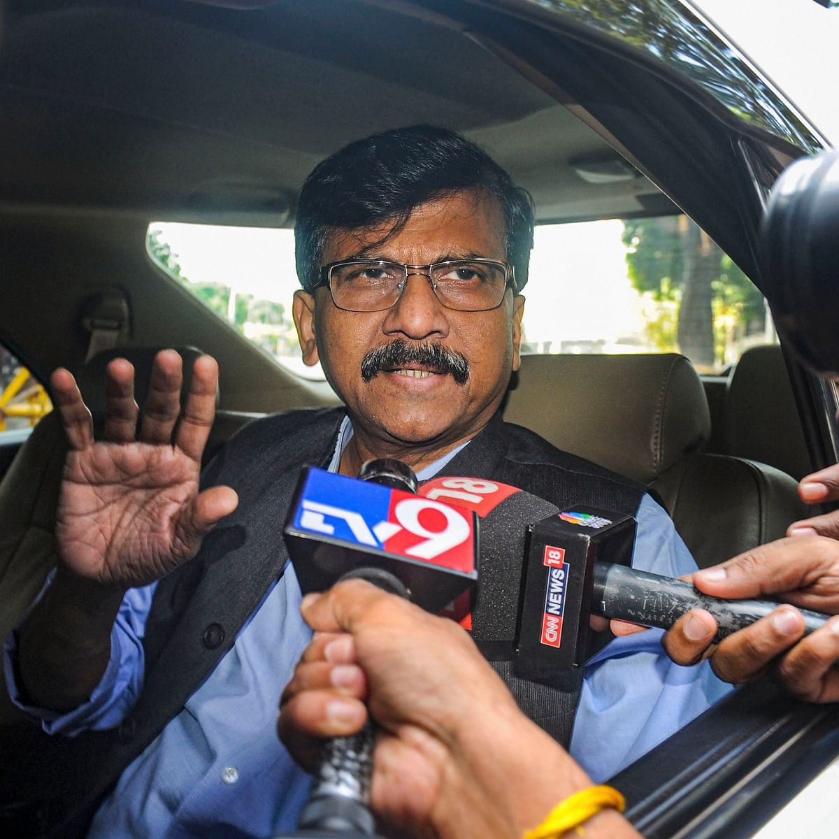 'BJP leaders doing politics': Sanjay Raut on 'Azaan' competition