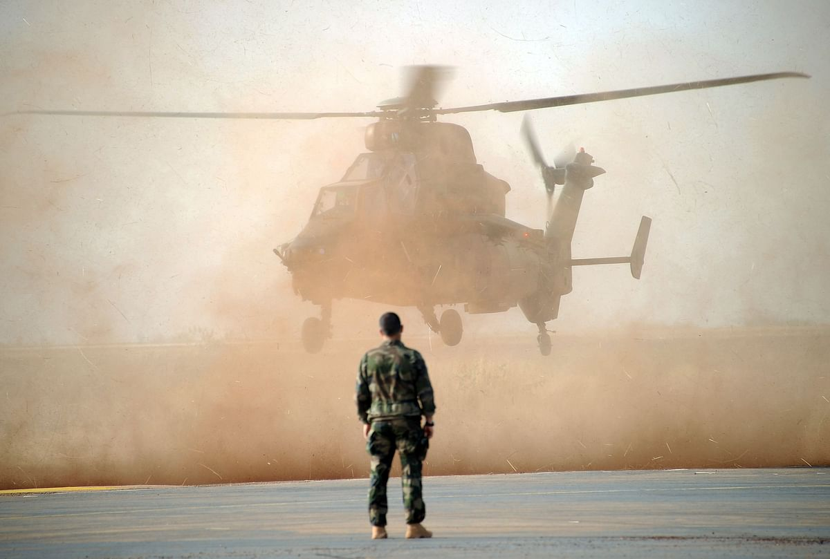 13 France's Barkhane force soldiers killed in Mali helicopter collision