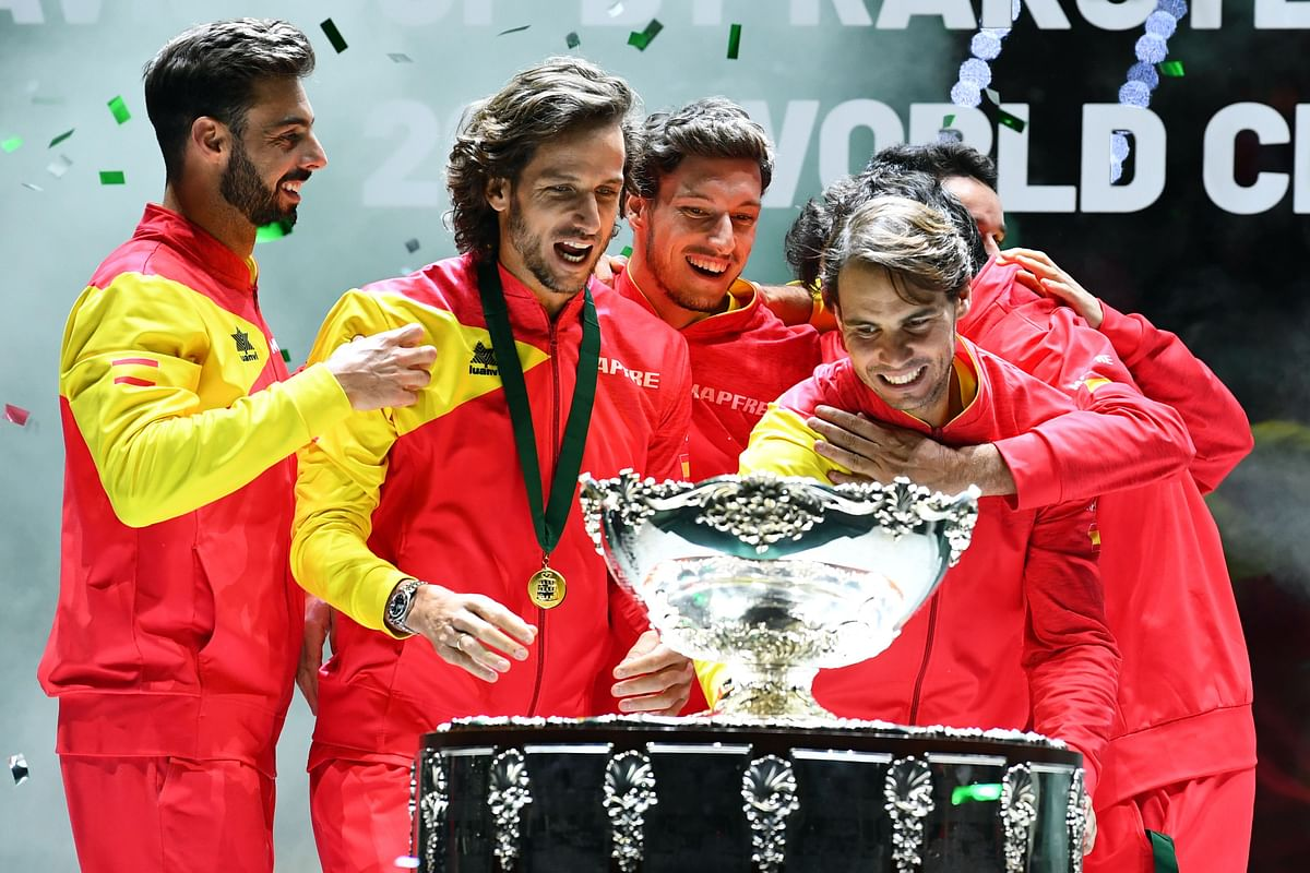 Spain wins their sith Davis Cup title