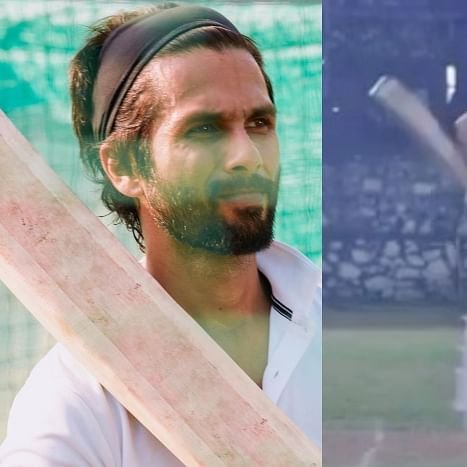Watch: Shahid Kapoor gives sneak-peak of his prep sessions for 'Jersey'