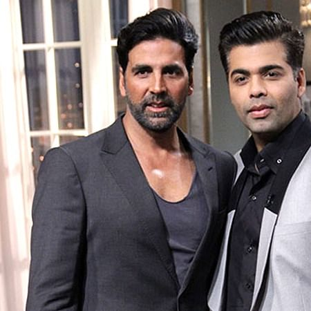 Akshay Kumar, Karan Johar rescue a stuntman who got injured during 'Good Newwz' song launch