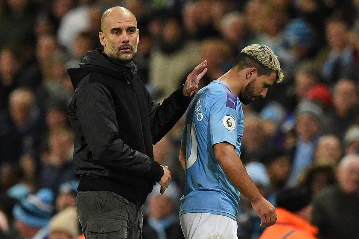 Sergio Aguero to miss Manchester derby with injury