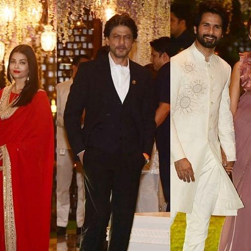 Aishwarya, SRK, Shahid and other stars light up Antilia for Mukesh Ambani's  nephew Arjun Kothari's pre-wedding bash