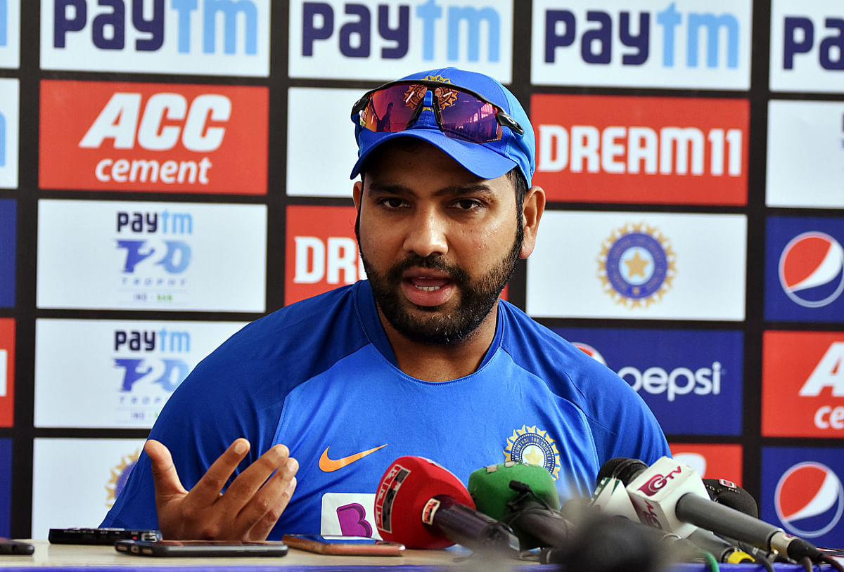 Hit-Man Rohit Sharma set to become first Indian to play 100 T20Is