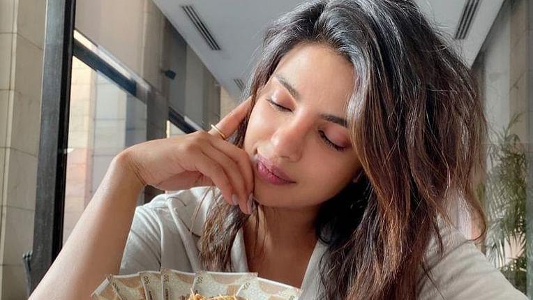 Priyanka Chopra savours her first 'Daulat Ki Chaat' while shooting for 'The White Tiger'