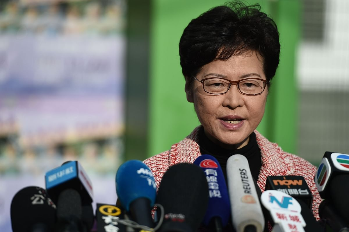 Hong Kong: Protesters call for elections for entire legislature, district elections to be held today
