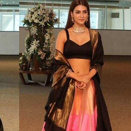 Kriti Sanon looks ethereal in traditional avatar at 'Panipat' trailer  preview
