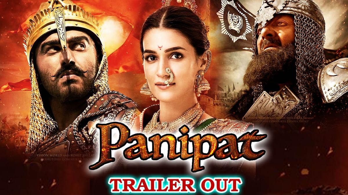 Panipat- Official Trailer Out | Sanjay Dutt, Arjun Kapoor, Kriti Sanon | Release on 6th  Dec 2019