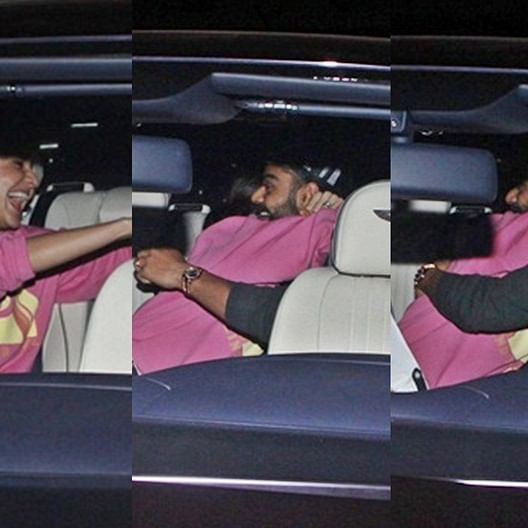 Did you miss me? Anushka receives Virat at the airport with a tight hug