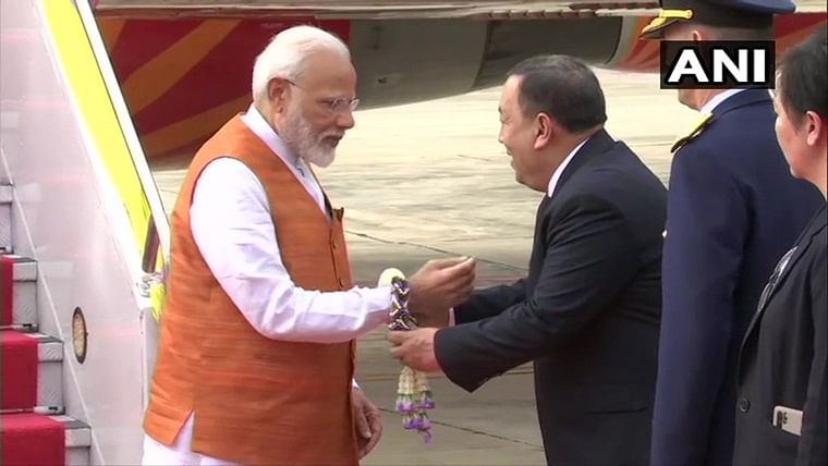 PM Narendra Modi arrives in Bangkok on 3-day visit amid focus on RCEP negotiations