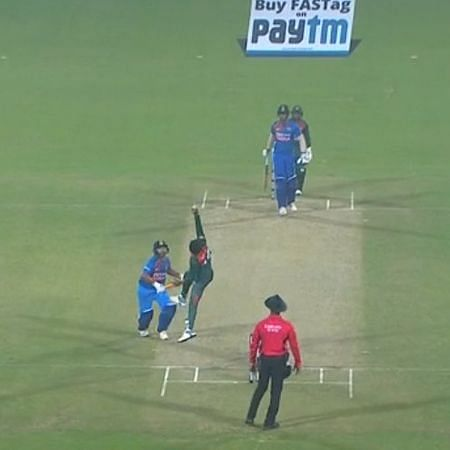 India vs Bangladesh T20I: The catch miss that changed the match