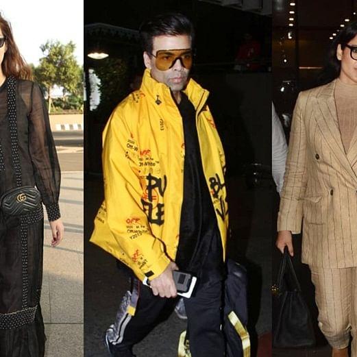 Airport Diaries: Kriti Sanon, Karan Johar and other celebs make a stylish appearance