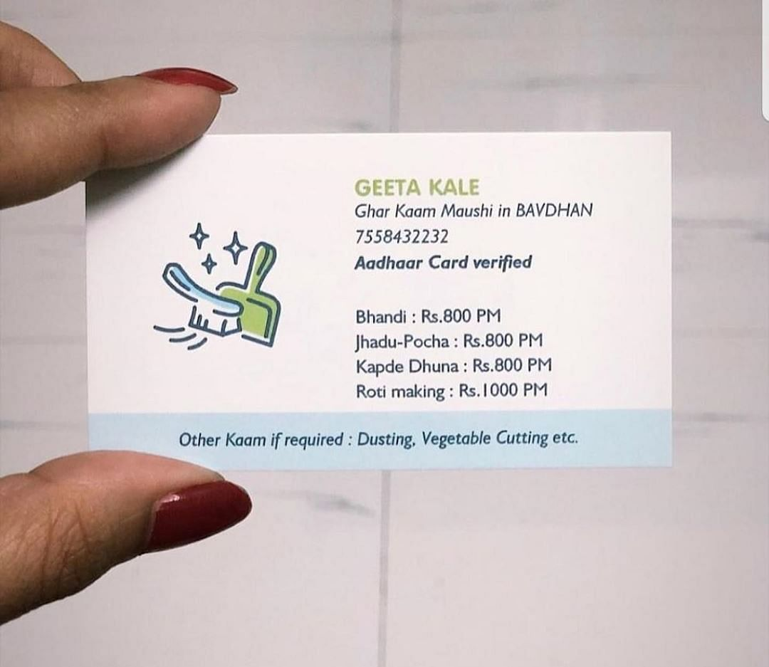 The epic story of a housemaid and her business card which went viral