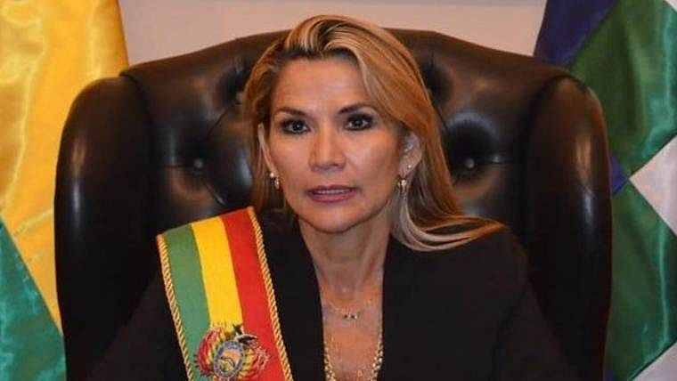 Bolivian senator Jeanine Anez declares herself president