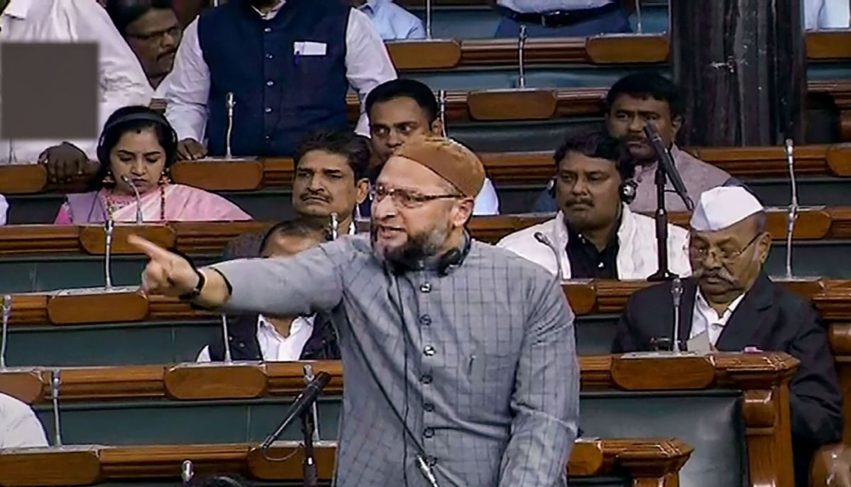 Owaisi questions Uddhav's definition of secular