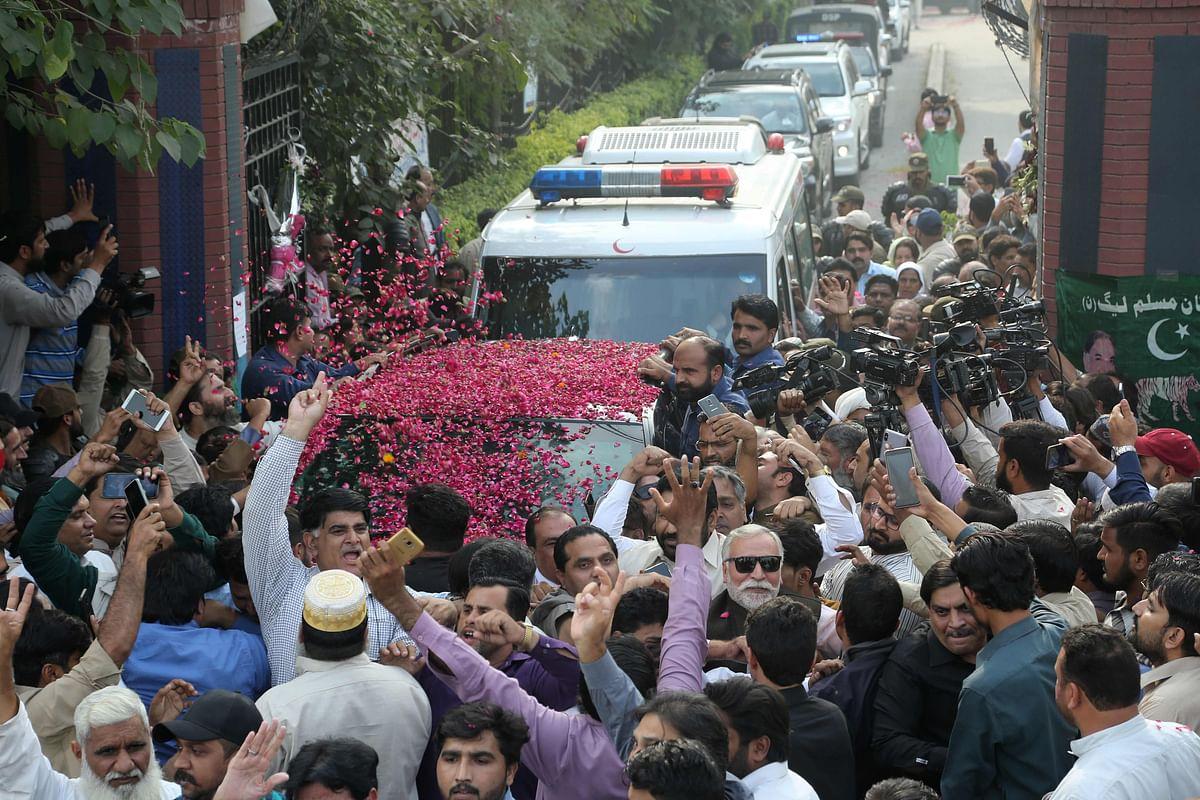 Nawaz Sharif may fly to UK for treatment