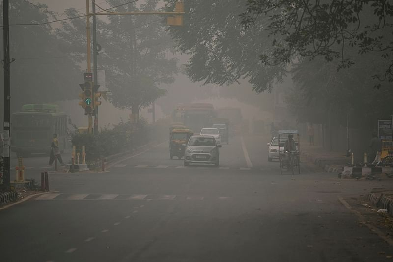 """Delhi's air quality improves from """"very poor"""" to """"poor"""" category"""