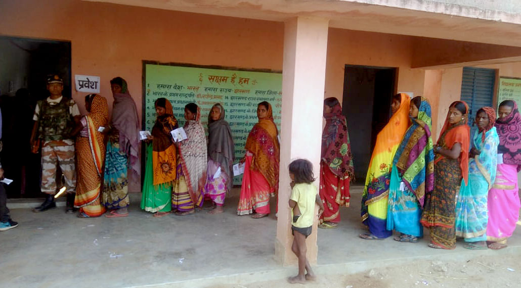 Jharkhand Assembly polls: 62.87 % voting registered in first phase