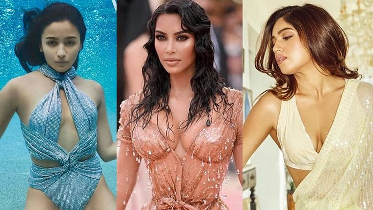 Alia's bikini, Bhumi's saree, Kim's nipples: Top 10 trending entertainment stories of the week