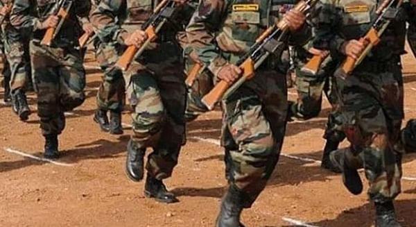 Army recruitment rally from December 13