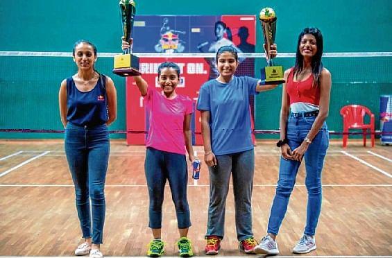Jaipur girls Jesmi Sojan, Saloni Ambwani rule Mumbai