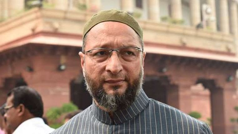 Indore: Petition to SC for booking Owaisi