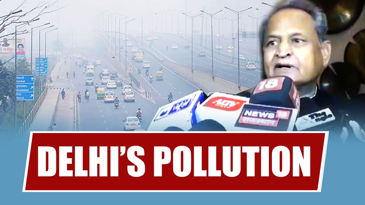 Delhi's Pollution Is Approaching Jaipur, Permanent Solution Needed: CM Ashok Gehlot