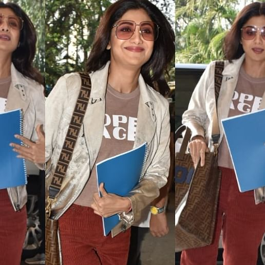 Nikamma: Shilpa Shetty flies to Lucknow to shoot the next schedule