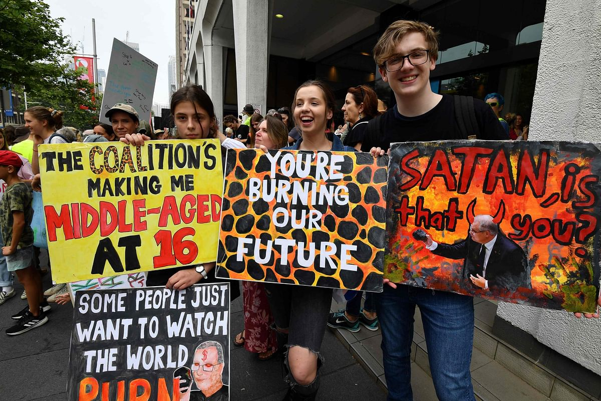 Global climate protests kick off in Australia's Sydney