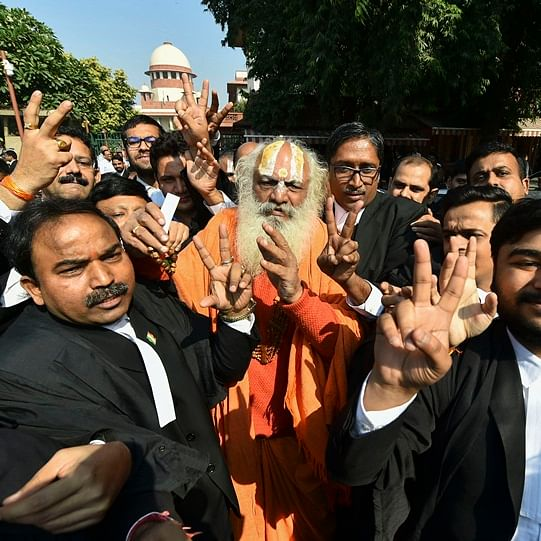 SC backs Ram temple in Ayodhya, gives Muslims nearly twice the disputed land for mosque