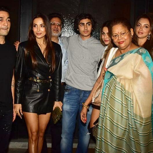 Malaika, Arbaaz come together sans partners for son Arhaan Khan's birthday
