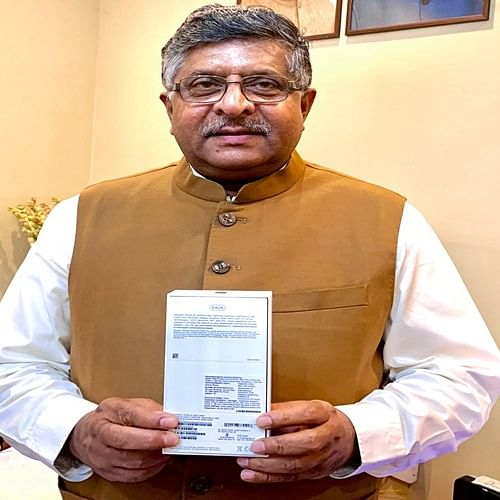 Designed by Apple in California and Assembled in India; Ravi Shankar Prasad showoff iPhone XR